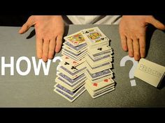 In this video I teach the card trick that cannot be explained. This is a very powerful card trick that happens in the spectators hands. You make an impossibl. Pen Tricks, Easy Card Tricks, Magic Card Tricks, Card Tricks Revealed, Magic Tricks For Kids, A Kind Of Magic, Magic Box, Deck Of Cards, Card Games