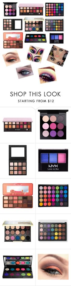 """""""Bright Eyes"""" by clouded4ever ❤ liked on Polyvore featuring beauty, Anastasia Beverly Hills, MAC Cosmetics, NYX, Too Faced Cosmetics, Urban Decay and brighteyes"""