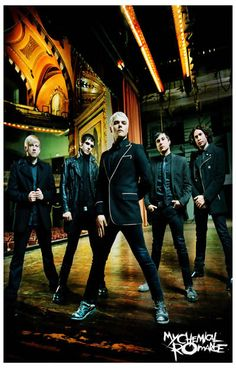 My Chemical Romance Fabulous Killjoys Music Poster 11x17
