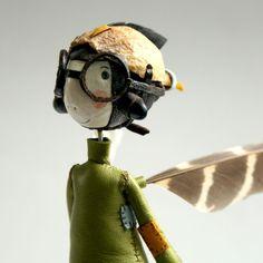 Samantha Bryan  -  Brain's Aerodynamic Flight Helmet for fairies