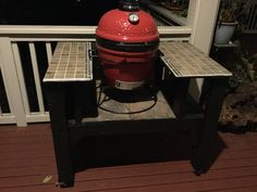 Kamado Joe table for Kamado Joe jr #kamadojoe #kamadojoejr