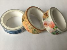 Masking tape travel x3