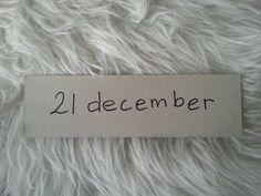 21 december. De laatste 10 dagen van 2014.