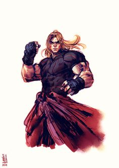SFV - fan-art From the same collection: Ken Masters Street Fighter Pc, Street Fighter Characters, Art Of Fighting, Fighting Games, Fantasy Character Design, Character Art, St Max, Ken Masters, Snk King Of Fighters