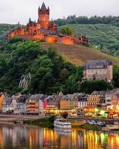Cochem Castle by 56abi on IG