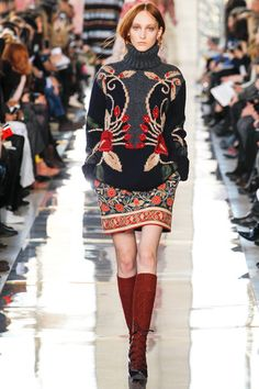 Tory Burch Fall 2014 Ready-to-Wear Collection Slideshow on Style.com