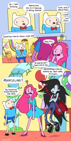 Adventure Time Comics, Adventure Time Marceline, Marceline And Bubblegum, Anime Princess, Cartoon Art Styles, Owl House, Cartoon Network, Concept Art, Funny