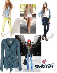"""""""punky fish by Petra Lodewijk"""" by jj-van-gemert on Polyvore"""