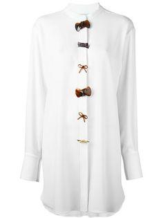 J.W.Anderson Hemdkleid mit Schleifenknöpfen