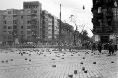 '56 Hungary History, Budapest Hungary, Homeland, Old Photos, No Time For Me, Revolution, Street View, Outdoor, Beautiful