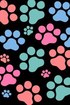 Resultado de imagen de paw print iphone wallpaper