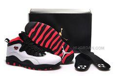 "best website cc970 d4136 Shop New Air Jordan 10 GS ""Double Nickel"" For Sale Authentic black, grey,  blue and more."