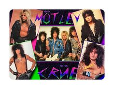 Awesome Music Mouse Pad Motley Crue