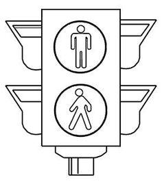 Descargables para colorear con los dibujos de las señales