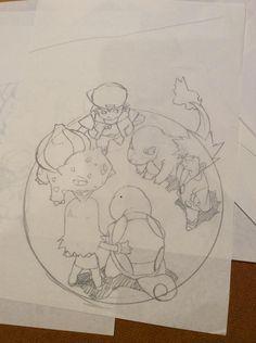 the random in my head Green Pokemon, All Pokemon, Pokemon Stuff, Anime Artwork, Cool Artwork, Yellow Artwork, Pokemon Sketch, Pokemon Coloring Pages, Original Pokemon