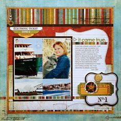 Kelly Goree's layout on basicgrey.com gallery - love the Wander line but also the layout design