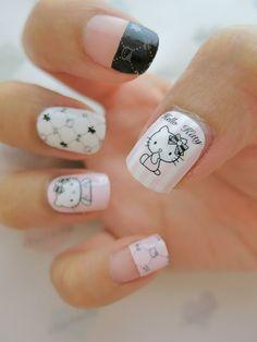 Baby Pink Hello Kitty Nail Art Nail Wrap D1042 | chichicho~ nail art addicts