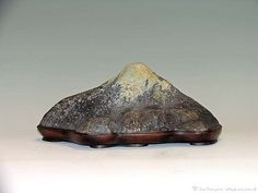 "Fuji-san - Found at Clear Creek, (?). 12"" Width x 7"" Depth x 6"" Height."