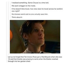 It was the 9th Doctor that knows Rose got a Red bike when she was 12. (The Doctor Dances).