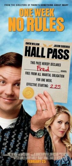 movie poster hall pass jason sudeikis - Google Search