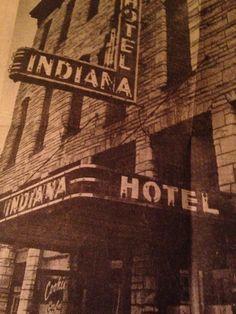 Hotel Indiana in Marion Indiana.  Photo/David Boyse/Facebook.