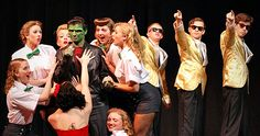 Hilliard Davidson's Production of ZOMBIE PROM - It's always great to hear from home and this is no exception.  It looks like Hilliard Davidson High back in Ohio has put on a rock 'em sock 'em production of ZOMBIE PROM.  Then they wrote me the nicest email AND sent me all these pics.  It really made my day.
