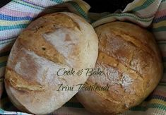 Ψωμί ολικής άλεσης σταρένιο της Κατερίνας Κωβαίου - Cook-Bake Bread, Baking, Recipes, Branch Decor, Food, Brot, Bakken, Essen, Backen