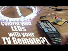 Control your LEDs with your TV remote?! || Arduino IR Tutorial - YouTube