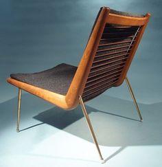 Boomerang Chair by Peter Hvidt & Orla Molgaard Nielsen for France & Daverkosen, 1956 - Furniture - Products