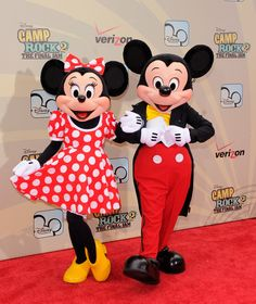 I think I want to be mini mouse for Halloween and force the hubs to be Micky