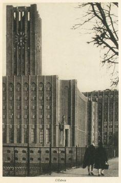 Berlin, Laszlo Willinger, Ullstein Verlagsgebäude in Tempelhof, 1929.