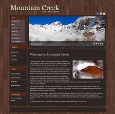Mountain Creek - Tema Gratuito