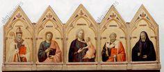 Maria mit dem Kind und den Heiligen Nikolaus, Johannes dem