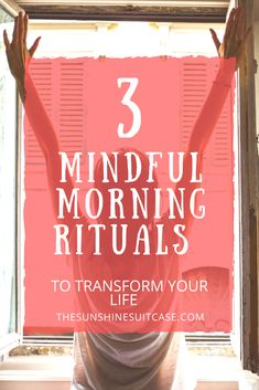 Start each morning off on the right foot with these 3 Mindful Morning Rituals. Take time to destress and declutter your mind for a more productive day! Mindfulness Practice, Mindfulness Meditation, Self Development, Personal Development, Declutter Your Mind, Morning Affirmations, Morning Ritual, Destress, Transform Your Life