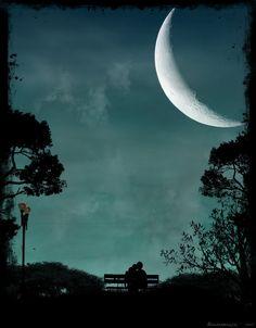 We see the same moon..