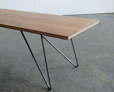 Milieu du siècle moderne inspiré Coffee Table par CoMod sur Etsy