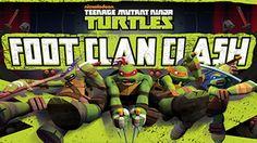 Teenage Mutant Ninja Turtles: FooT Clan Clash - Es tiempo de la tortuga! Mostrar el Clan del Pie quién es el jefe y la derrota Araña Bytez para una victoria épica.