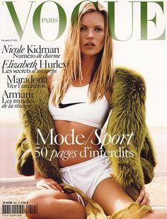 Vogue Paris Nov 2004 Kate Moss