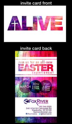 3. One card. One guest. Hand out printed invitations to Easter worship services to all of your regular attendees. Ask them to pray for one person God is leading them to invite. Members either mail or hand-deliver the invitations to those people they've been praying for.