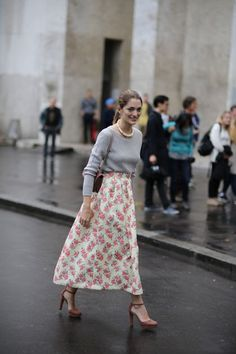 How Paris Does Street Style: The Very Best Snaps from Haute Couture Week | Teen Vogue