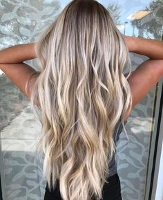 Marvelous Yes yes yes! Are you looking for hair color blonde balayage and brown for fall winter and summer? See our collection full of hair color blonde balayage and brown an . Cool Blonde Balayage, Cool Blonde Hair, Hair Color Balayage, Blonde Color, Balayage Hairstyle, Blonde Balyage, Winter Blonde Hair, Cool Blonde Highlights, Color Highlights
