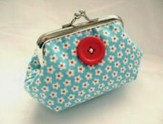 Red And Teal, Red Turquoise, Cute Purses, Purses And Bags, Petite Purses, Cute Coin Purse, Frame Purse, Pouch Bag, Pouches