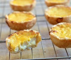 Mini Eggpies are hand held pies made with egg custard and a super buttery crust (Filipino)