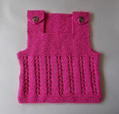 marianna's lazy daisy days - Lacy Vest Top - Child - No pattern - just idea.