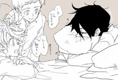 Yokusoku no neverland - - Fanarts Anime, Anime Manga, Anime Art, Norman, Multimedia, Kids In Love, Otaku, Anime Comics, Neverland