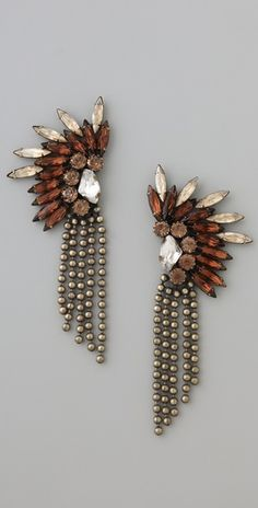 These earrings are just fabulous! From @Dannijo