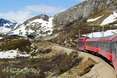 Norway - Bergensbanen, Train took 34 years to build and 182 tunnels