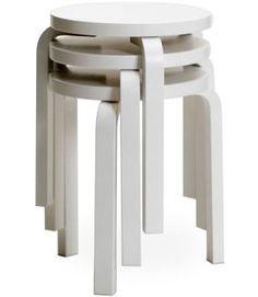simple, functional, timeless stool 60 Design Alvar Aalto, 1933 Bent birch plywood Made in Finland by Artek