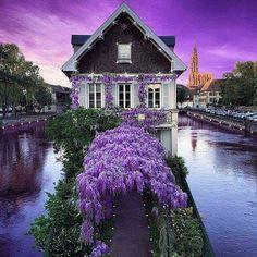 . Petite France, Beautiful Places, Beautiful Pictures, Wonderful Places, House Beautiful, Design Jardin, Ville France, France Photos, Spring Photos