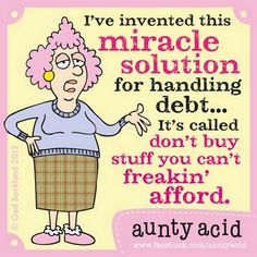 For anyone who missed out on the offer last time, there's a HUGE 21% off our 2014 Aunty Acid calendar for FB fans who click this link http://www. Description from pinterest.com. I searched for this on bing.com/images